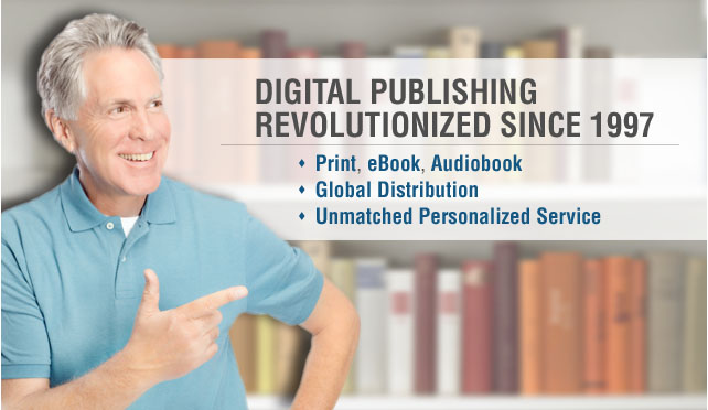 easily publish print, eBooks, and audio books