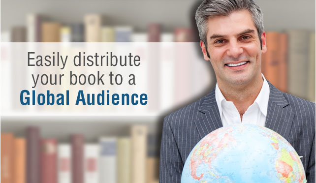 easily Distribute you books to a global audience book publishing services